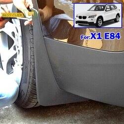 X1 E84 XUKEY Acessórios Mudflaps Carro Apto Para BMW 2010 2011 2012 2013 2014 2015 Splash Guard Mudguards Moldado Frente rear Fender