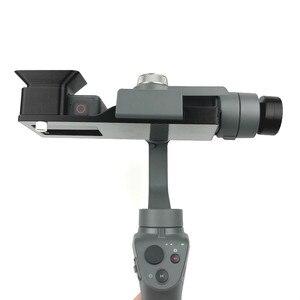 Image 3 - GoPro HERO 5/6/7 ยึดกล้อง Action Camera แผ่นคลิปผู้ถือ DJI OSMO MOBILE 1 2 Handhold Gimbal Stabilizer Access