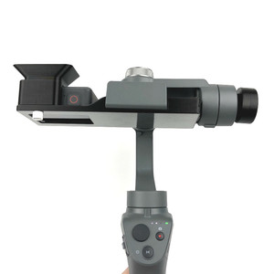 Image 3 - Gopro Hero 5/6/7 Action Camera Mount Bracket Plate Clip Adapter Holder To DJI OSMO Mobile 1 2 Handhold Gimbal Stablizer Access