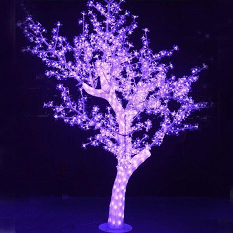 1.8 Mètres 792 led 72 Watts lumières de sapin de noël avec rose a mené des lumières