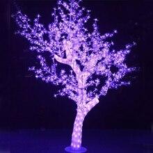 792 м 1,8 светодио дный S 72 Вт Рождественская елка с розовыми светодио дный ными Лам