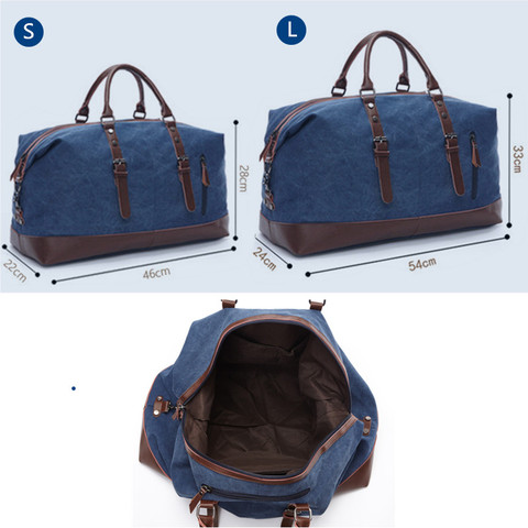 Vintage Travel Bags Canvas Leather Men Carry on Luggage Bags Men Duffel Bags Handbag Travel Large Capacity Weekend Bag Overnight Karachi