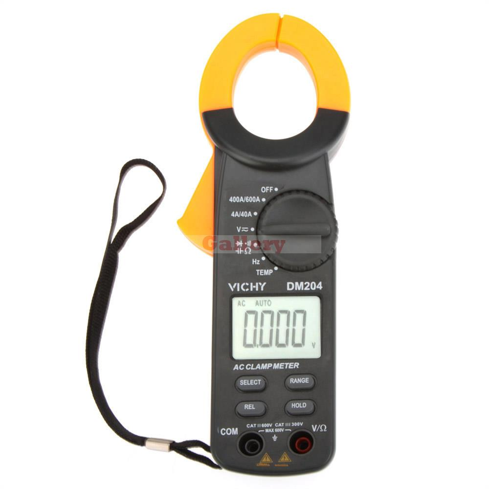 High Frequency Voltmeter : Vichy dm digital clamp meter ammeter ohmmeter voltmeter