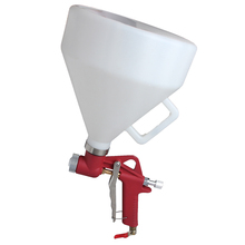 WENXING Air Hopper Spray Gun Paint Texture Tool Drywall Wall Painting Sprayer with 3 Nozzle