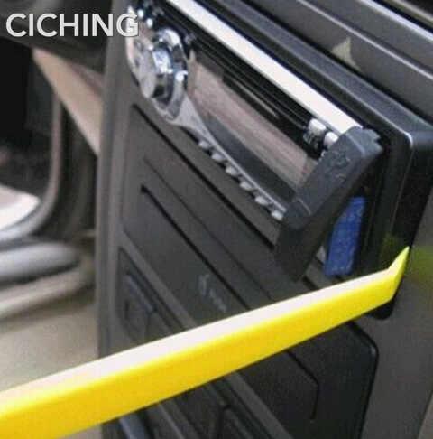 車ラジオパネルインテリアドアクリップパネルダッシュボード除去アウディ a6 c6 用アルファロメオ 147 vw パサート b6 honda
