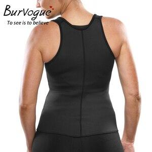 Image 5 - Burvogue חדש ומעצב אפוד נשים מותניים מאמן Thermo גוף מעצב חגורות הרזיה Shaper משרד בקרת מותן Cincher Shapewear בתוספת
