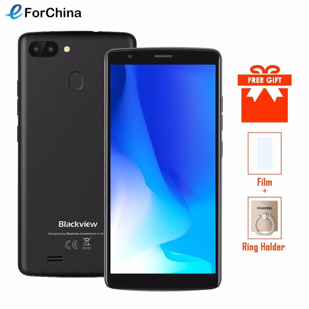 Blackview A20 Pro Smartphone 5.5 18:9 HD + Plein Écran Android 8.1 MT6739 Quad Core 2 GB 16 GB Double Retour Cames 3000 mAh GPS 4G Téléphone