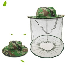 Beekeeping Hat Anti-Bee Mask Cap Mosquito Net Outdoor Bee Insects Insect-Proof Mesh Fishing Sunshade