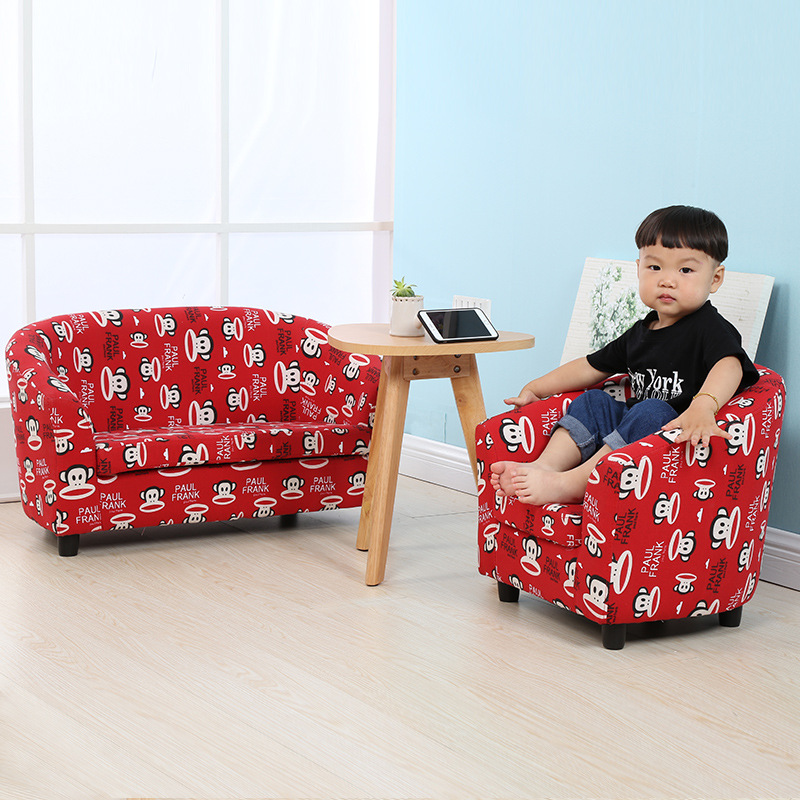 Children S Small Sofa Mini Baby Cute Cartoon Kindergarten Single Child Chair In Sofas From Furniture On Aliexpress Alibaba Group