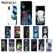 MaiYaCa Tim Burton's Corpse Bride Silicone TPU Phone Cover for Apple iphone 11 pro 8 7 66S Plus X XS MAX 5S SE XR Mobile Cover(China)