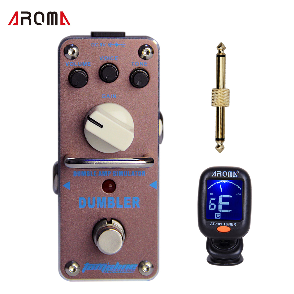 Promotion product group!! AROMA  ADR-3 DUMBLER Dumble amp sound - overdrive Mini Analogue Effect True Bypass guitar effect pedal aroma dumbler dumble amp simulator guitar effect pedal adr 3 sound overdrive mini analogue volume control gain tone control