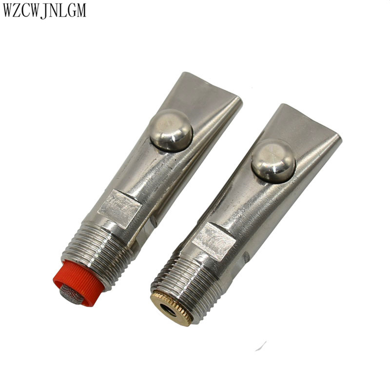 "2Pcs//set Steel 1//2/"" PT Thread Pig Hog Automatic Nipple Drinker Waterer Tool G*HW"