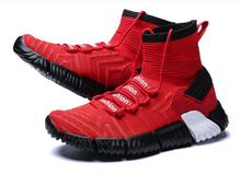 High quality 2019 Fashion Outdoor Sport mens Help Lace-Up Socks shoes Breathable casual sports 39-46