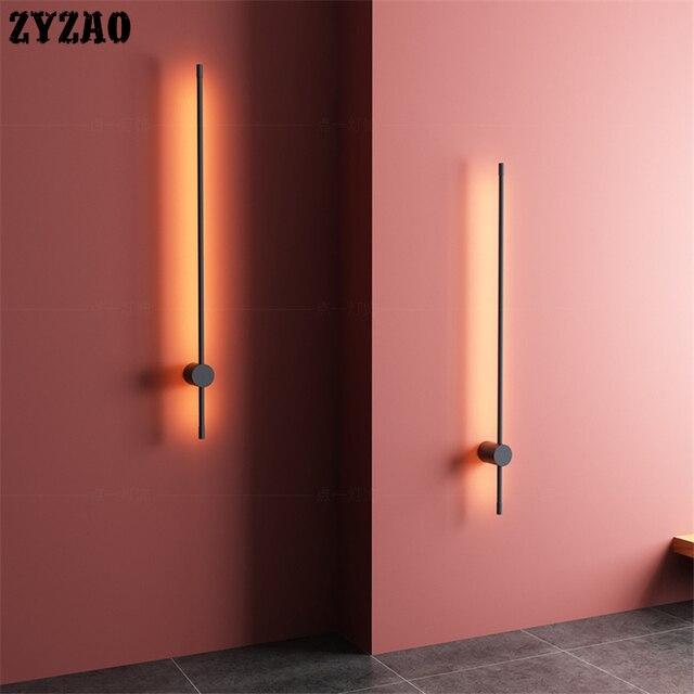 Moderne Creatieve Strak Led Wand 4