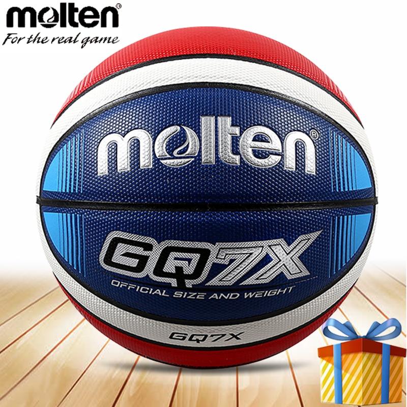 Ballon de basket en fusion taille 7 homme street training balon ballon officiel de basket GQ7X accessoires basquete balles baloncesto