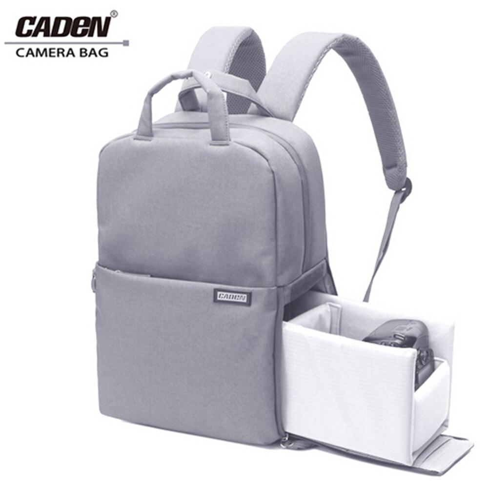 Caden Camera Bag Digital Travel Waterproof Laptop DSLR Backpack Shoulder Bags Shockproof For Canon Nikon D60 D90 D3100 D3200 L5 bag