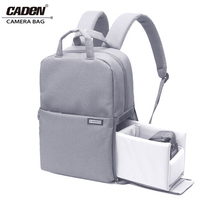 Caden Camera Bag Digital Travel Waterproof Laptop DSLR Backpack Shoulder Bags Shockproof For Canon Nikon D60