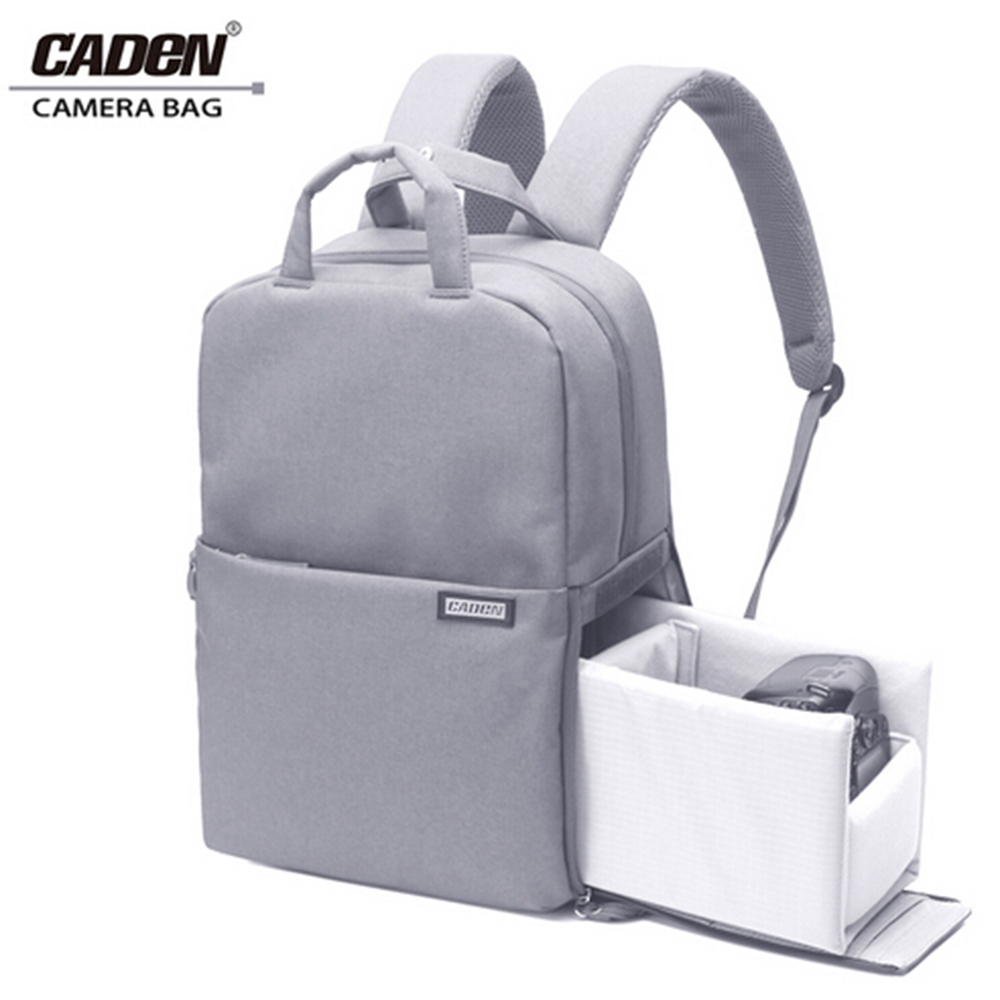 Caden Camera Bag Digital Travel Waterproof Laptop DSLR Backpack Shoulder Bags Shockproof For Canon Nikon D60 D90 D3100 D3200 L5 caden l5 dslr camera bag video photo digital camera backpack waterproof laptop 14 school travel bag for dslr canon nikon sony
