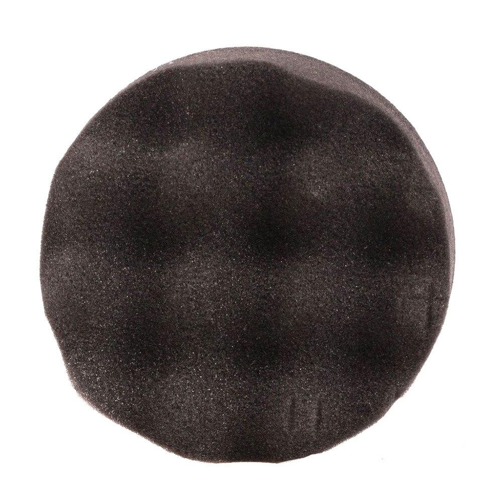 1 шт. Губка для полировки автомобиля губка для полировки Авто полирующая пена прочный набор колес портативный 6 дюймов - Цвет: black
