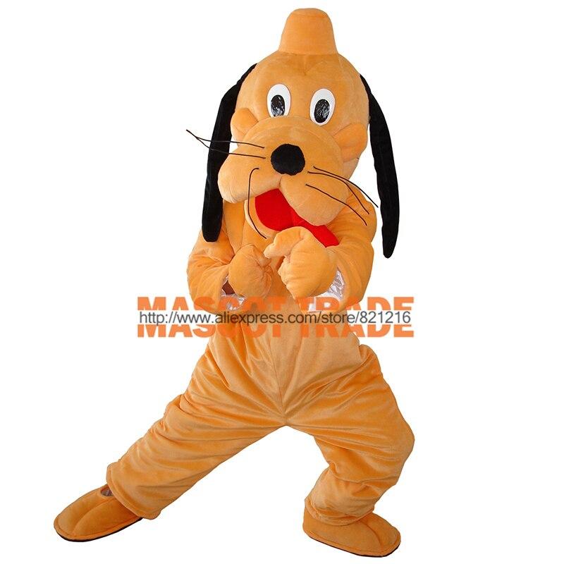 Новый Плутон собака костюм для взрослых Плюшевые Маскоты костюм персонажа из мультфильма костюмы для Хэллоуина Костюм