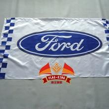 Ford автомобильные гонки флаг, 90*150 см полиэстер ford баннер