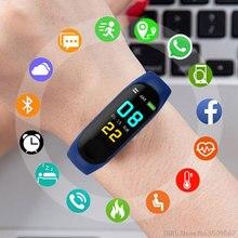 Смарт-часы Для женщин Для мужчин для смарт-часы для Android IOS спортивный браслет Фитнес электроника трекер Smart Браслет для часов Смарт-часы