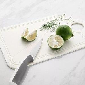 Image 3 - Youpin Jordan & Judy Gấp Bếp Thớt Khối Nhựa PP Bàn Cắt Thịt Trái Cây Thớt Đi Dã Ngoại Cắm Trại Dao Thớt