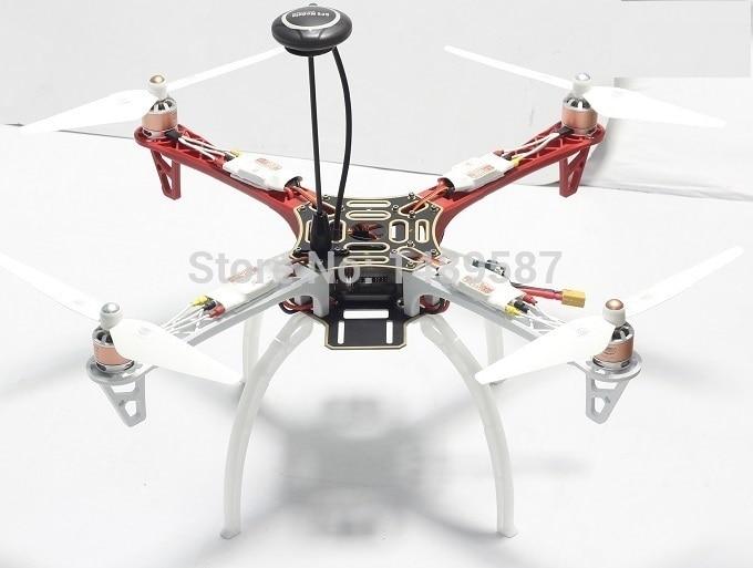 build f450 apm 2.8 - RC Drone F450 Quadcopter Flamewheel kit/4axis FPV+APM 2.8/7M GPS+OWLUAV 2212 Motor+30A ESC+ prop+Landing Gear  F450