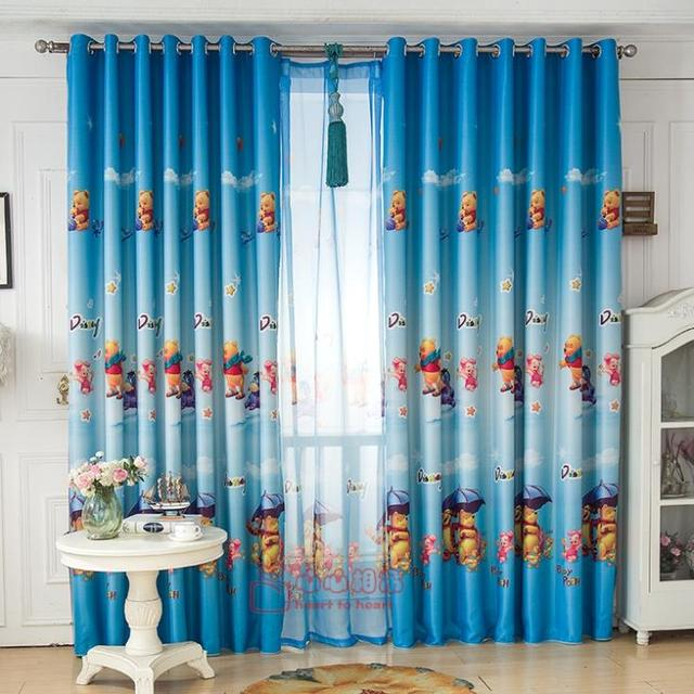 Winnie The Pooh Tigger Finished Custom Blackout Curtains Cartoon Boy Bedroom  Childrenu0027s Room Special Offer Free