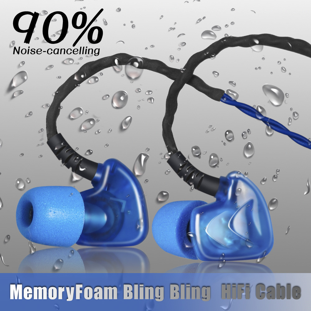 Brand Hot Plextone S50 Noise Reduction Three Proofings HiFi Monitor Headset,earphone for Android and For Iphone