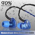 Marca caliente plextone s50 reducción de ruido tres impermeabilizaciones monitor de auriculares de alta fidelidad, auriculares para android y para iphone