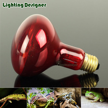 R80R95 Red Heat Lamp Bulb Infrared Heating Lamp Spot Basking Bulb 120V/220V 100W 150W Reptiles Bulb Helps Maintain Animal Warmth