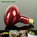 R80R95 Vermelho Lâmpada de Calor Infravermelho Lâmpada de Aquecimento Lâmpada Basking Spot Lâmpada 120 V/220 V 100 W 150 W répteis Bulb Ajuda A Manter o Animal Calor