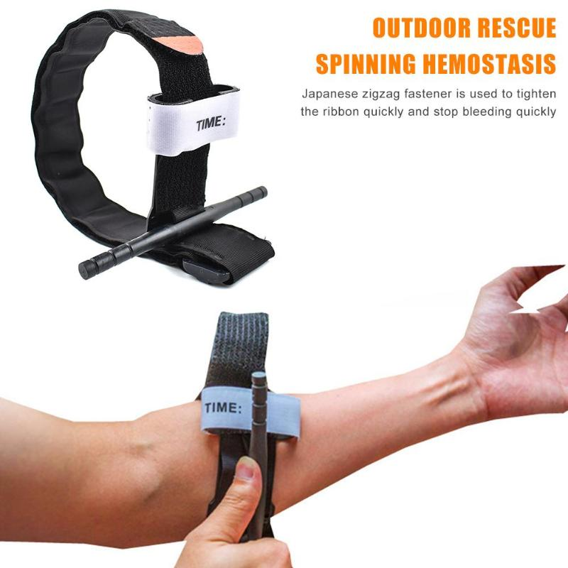 One Hand Emergency Release Buckle Tourniquet Strap For Outdoor First Aid Rescue Tool Survival In The Wild Adventrue Emergency