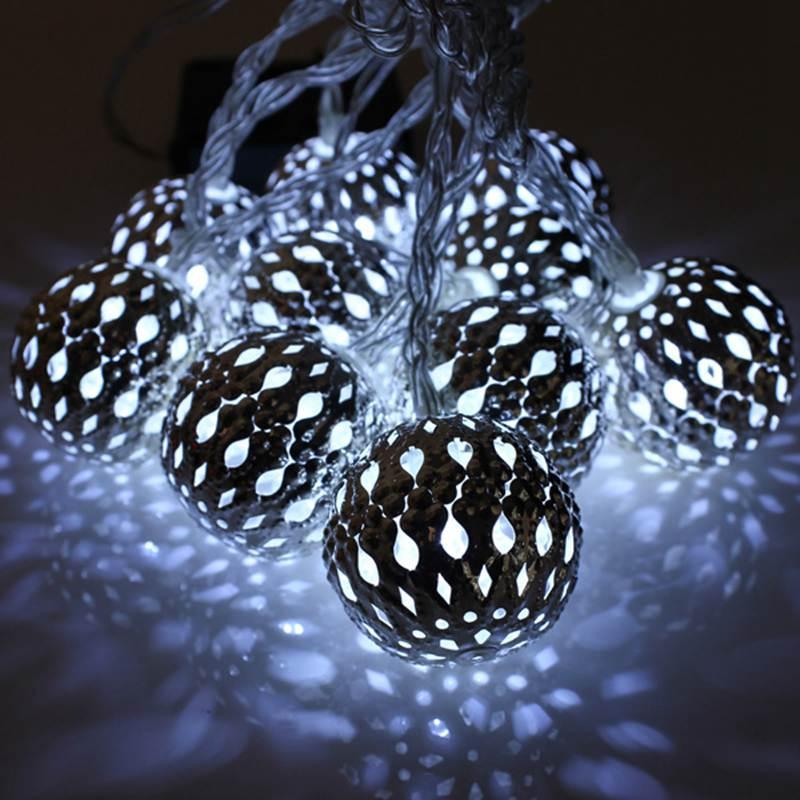 10 светодиодов 120 см гирлянды светодиодные огни батарея работает фонари мяч сердце звезда форма фея строка новогодние товары украшения сада лампы