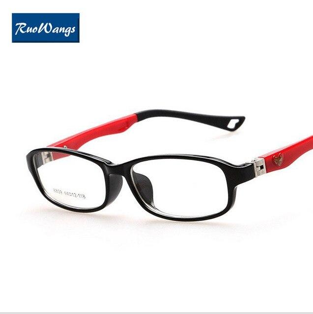 45a9fb4cd5 RuoWangs Glasses frame kids eyeglasses kids eye glasses fashion spectacle  frames oculos de grau kids glasses myopia eyeglasses