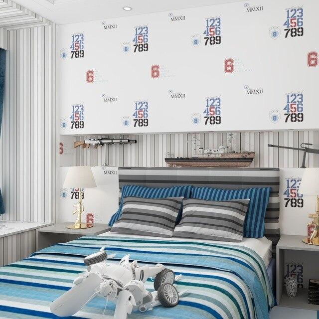 Kinderzimmer Tapeten Jungen Schlafzimmer Importiert Vliesstoffe