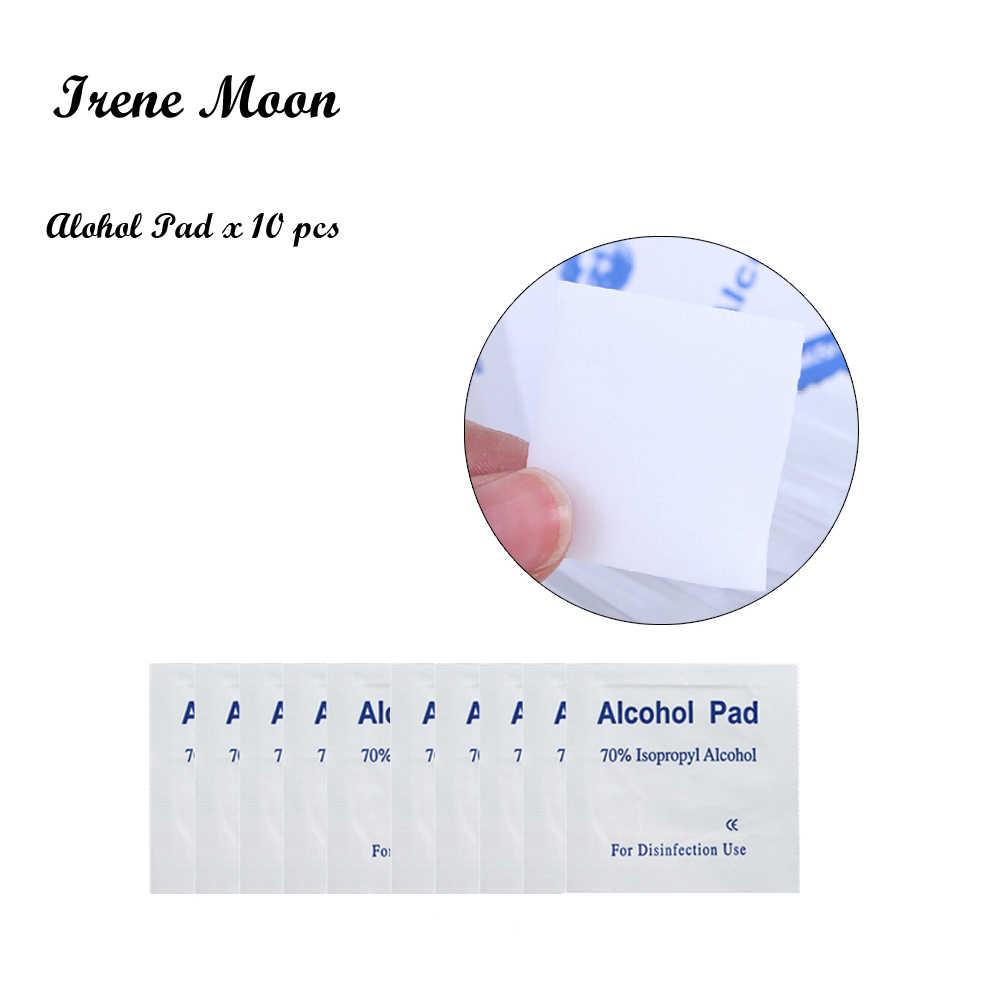 Portátil 10 piezas Alcohol muestras almohadillas prepara toallitas húmedas antiséptico limpiador limpieza esterilización familia limpieza CUIDADO DE PRIMEROS AUXILIOS