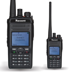 Professional DPMR Digital Radio RS-619D UHF 400-470MHz 4W/1W Walkie Talkie LCD Display 256 Storage Channels SMS CTCSS/DCS
