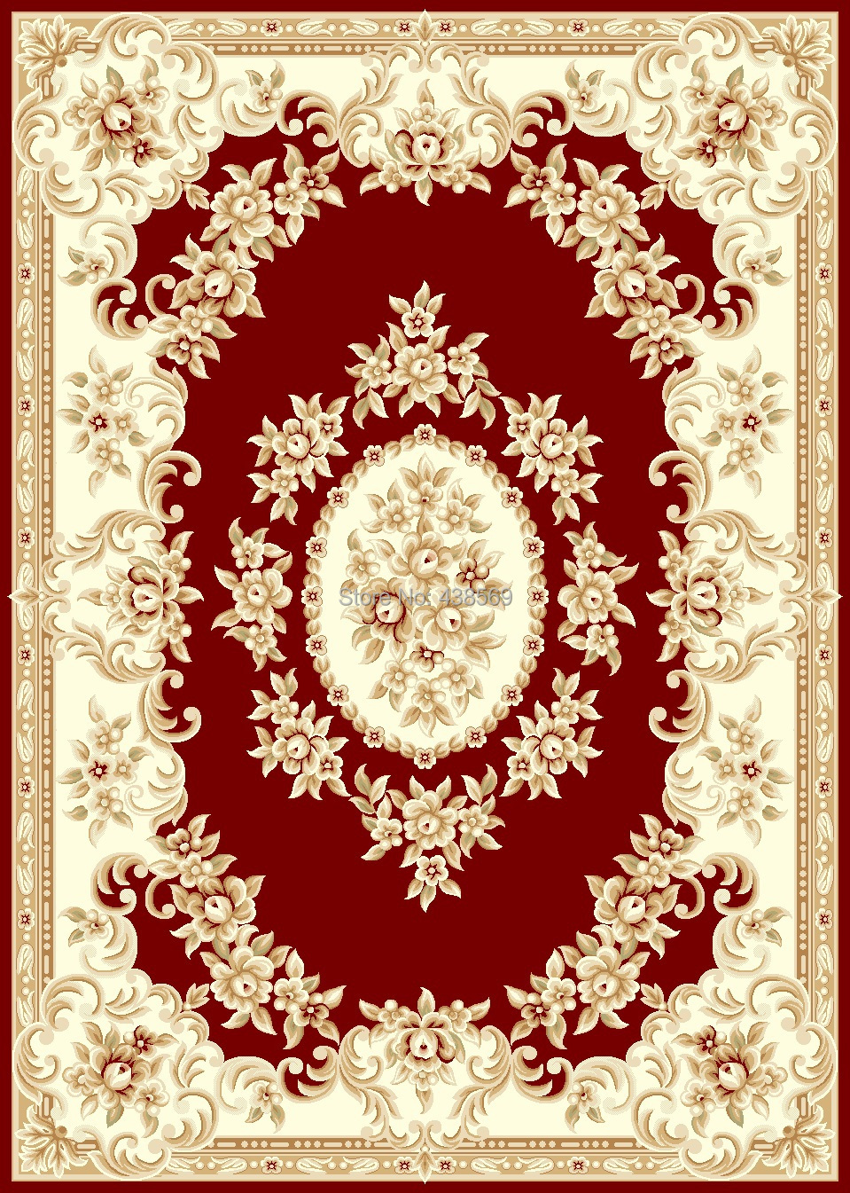 Awesome Free Shipping 2.4mx3.4m Woven Carpets Woolen Rugs Aubusson Design Carpets  Machine Tufted Carpet