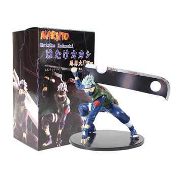 14cm Naruto Shippuuden Hatake Kakashi Shinobi World War with Sword Ver. PVC Action Figure Collectible Model Toy Figurine - Category 🛒 Toys & Hobbies
