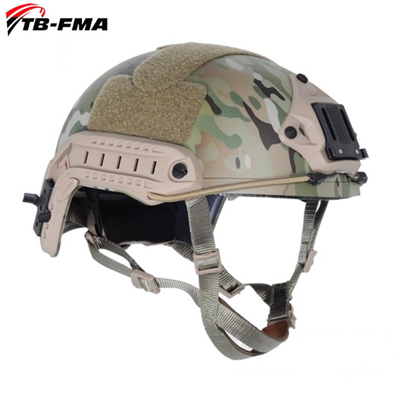 TB-FMA Tactical Helmets FAST PJ Ballistic Type Tactical Gear Helmet Multicam for Hunting and Airsoft Protective Free ShippingTB-FMA Tactical Helmets FAST PJ Ballistic Type Tactical Gear Helmet Multicam for Hunting and Airsoft Protective Free Shipping