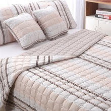 ФОТО annuona 5pcs quilted quilt sets king/queen size quilt 220x240cm bedsheet set 2cushion cover 2pillowcase bed cover bedsheet set