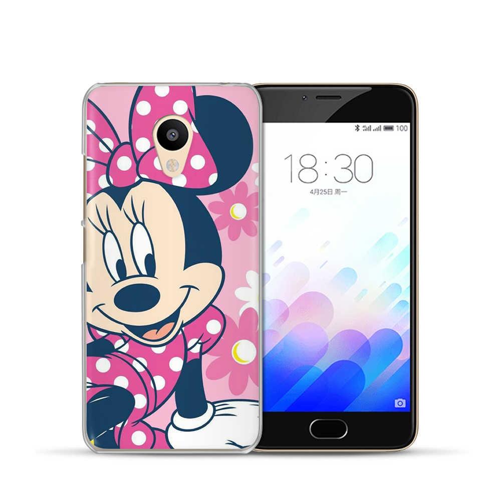 Nette Mickey Minnie Maus Telefon Fall Für Meizu M5s M3s M5C M5S M5 Mini M3 M5 M6 Hinweis Pro6 U10 u20 Silikon Fall Abdeckung Capa Etui