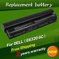 Batería del ordenador portátil para dell latitude e6120 e6220 e6230 e6320 jigu E6430S XFR E6320 E6330 Series 09K6P 0F7W7V 11HYV 3W2YX 5X317 7FF1K