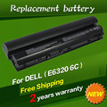 JIGU laptop battery For dell Latitude E6120 E6220 E6230 E6320 E6330 E6430S E6320 XFR Series 09K6P 0F7W7V 11HYV 3W2YX 5X317 7FF1K