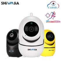 SHIWOJIA 1080 P Беспроводной IP камера Intelligent Auto Tracking человека охранных видеонаблюдения сети Wi Fi Cam