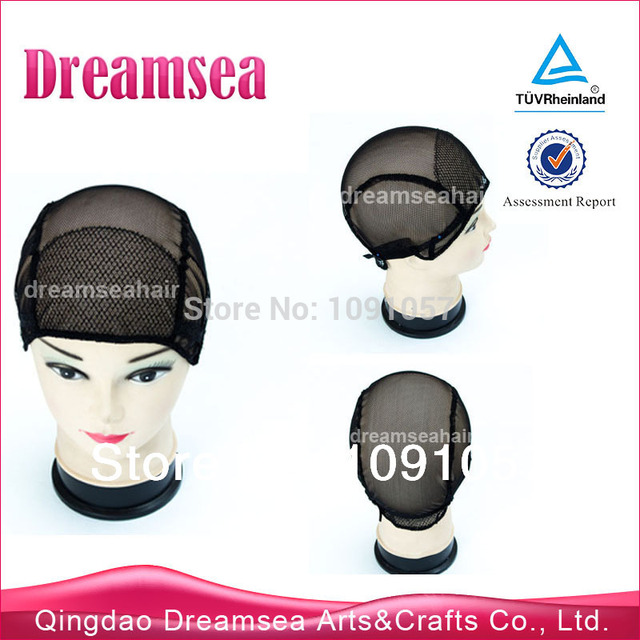 Wholesale Stocking Weft Wig Cap For Making Wigs Adjustable Hair Net