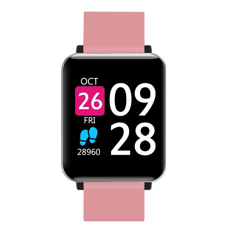 b3e0f8e4a086 Plaza reloj inteligente de las señoras de las mujeres deporte electrónico  Digital LED relojes de pulsera para las mujeres reloj mujer relojes horas  ...