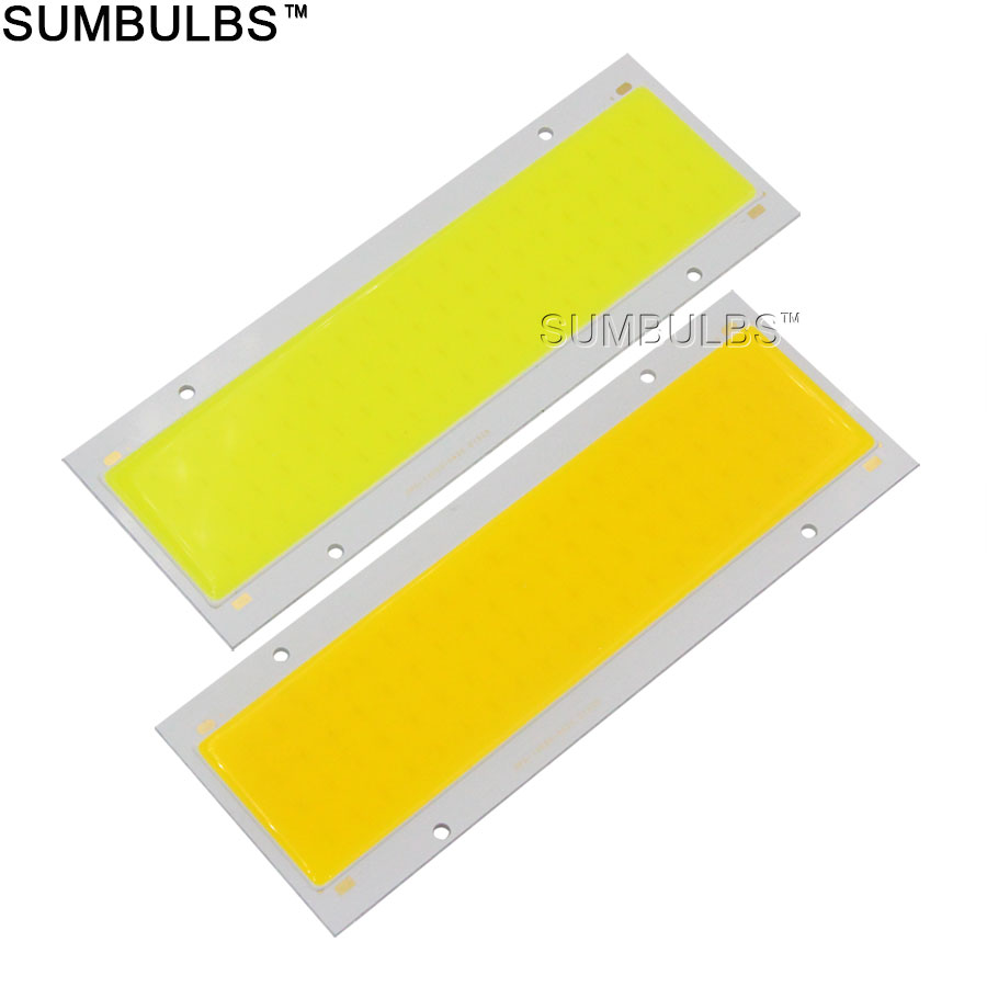 140x50MM 16W 20W LED Light COB Strip Lamp 12V DC Super Bright Rectangle Bulb Warm Natural Cold White DIY Car Lights new super bright led bulb e27 12w 16w 30w 50w 220v cold white warm white round led light lamp 5730 chip for house home office